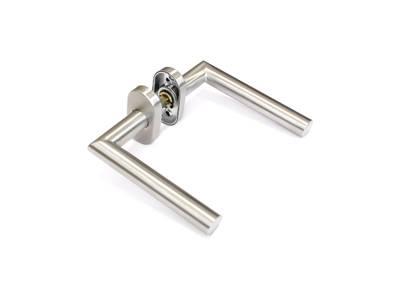 Гарнитур нажимной раздельный Elementis, прямоуг., +/-45°, нержавеющая сталь Изображение
