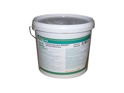 Герметик для окон пароизоляционный для внутренних работ Bauset B (7 кг) Изображение 4