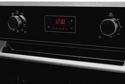 HFZ 691 BX Электрический независимый духовой шкаф, цвет Чёрный/ дверная ручка и рама из алюминия Изображение 3