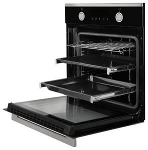 HH 6612 T Электрический независимый духовой шкаф, цвет Чёрный Изображение 2