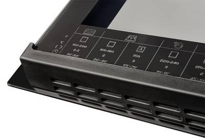 HH 6612 T Электрический независимый духовой шкаф, цвет Чёрный Изображение 4