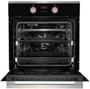 HH 668 T Электрический независимый духовой шкаф, цвет Чёрный/ нержав. сталь Изображение 2