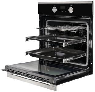 HH 668 T Электрический независимый духовой шкаф, цвет Чёрный/ нержав. сталь Изображение 3