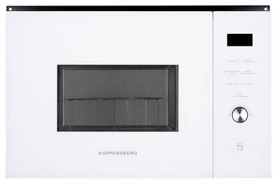 HMW 650 WH Встраиваемая микроволновая печь,цвет: белый / стеклянный фасад  Изображение