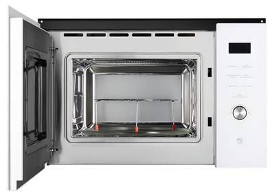 HMW 650 WH Встраиваемая микроволновая печь,цвет: белый / стеклянный фасад  Изображение 2