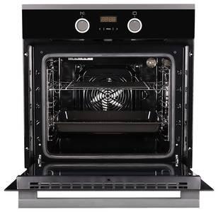Электрический духовой шкаф Kuppersberg HO 658 T, черный/нержав. сталь Изображение