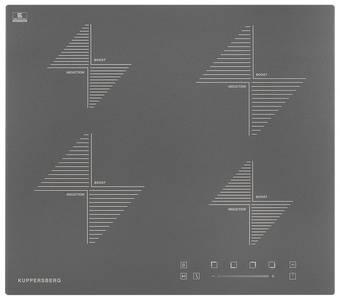 ICS 604 GR Индукционная варочная поверхность стеклокерамическая,ширина 60 см, цвет графит/прямой край  Изображение