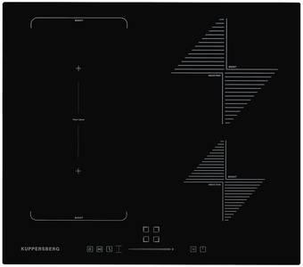 Индукционная варочная поверхность Kuppersberg ICS 614, чёрный Изображение