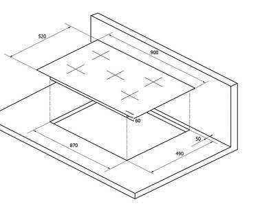 Индукционная варочная поверхность Kuppersberg IMS 901, чёрный Изображение 4