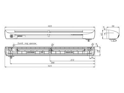 Клапан приточный EHA2, 5-35 м3/ч, белый, EAR201 Изображение 2