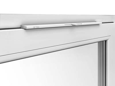 Приточный клапан на окно Air-Box Comfort (уплотнитель черный) [белый] Изображение