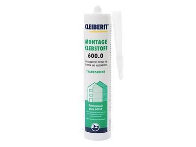 Клей-герметик Kleiberit 600.0 универсальный для наружных и внутренних работ 290мл Изображение