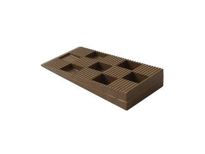 Клин монтажный Bauset 91х43х15 коричневый Изображение 3
