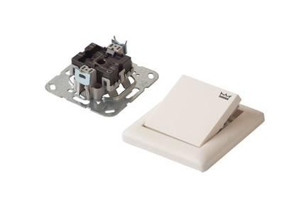 Кнопка с функцией HOLD-OPEN для распашных приводов Система 55 19144701170 Изображение 2