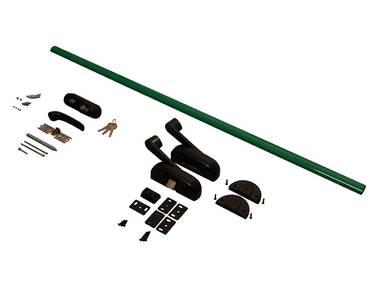 Комплект Антипаники, 1(одна) точка запирания, 1150мм, зеленый Изображение