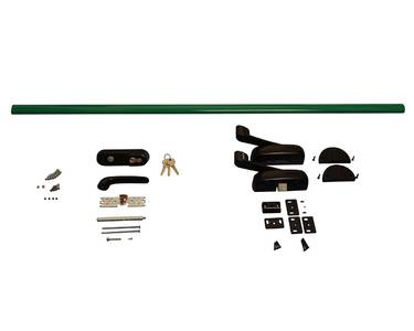 Комплект Антипаники, 1(одна) точка запирания, 1150мм, зеленый Изображение 4