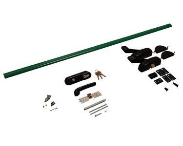 Комплект Антипаники, 1(одна) точка запирания, 1150мм, зеленый Изображение 3