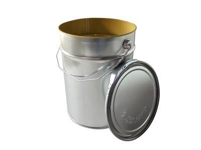 Комплект тара+крышка Hesse X 311 для водных и органических ЛКМ, 10л Изображение
