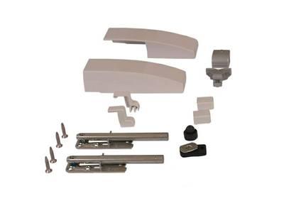 Комплект аксессуаров Giesse GS1000-HL, свыше 100 кг, белый RAL9010, 09775560 Изображение 2