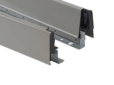 Комплект боковин 450 мм (левая, правая) для ящика Firmax Newline, серый Изображение 3