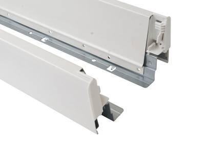Комплект боковин Firmax длина 400 мм (левая, правая) для ящика Newline, белый Изображение 3