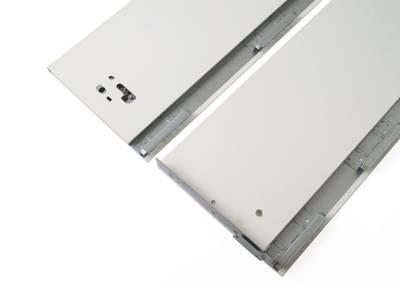 Комплект боковин Firmax высотой 185 мм длина 350 мм (левая, правая) для ящика Slimline, перламутр Изображение