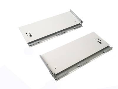 Комплект боковин Firmax высотой 185 мм длина 350 мм (левая, правая) для ящика Slimline, перламутр Изображение 2