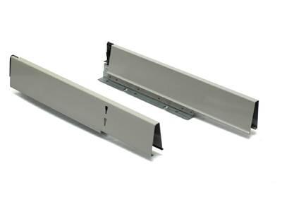 Комплект боковин  под мойку 500 мм под мойку для ящика Firmax Newline, серый Изображение