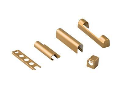 Комплект декоративных накладок, золото матовое, (5 позиций) Изображение 3