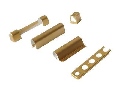 Комплект декоративных накладок, золото матовое, (5 позиций) Изображение 2