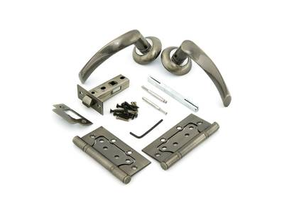 Комплект для двери Фабрика замков FZ SET 03-C 100 2H, античная бронза Изображение