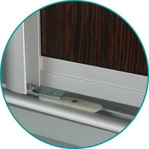Комплект для распашной двери (2 петли, 2 втулки, 2 винта) FIRMAX Изображение 5