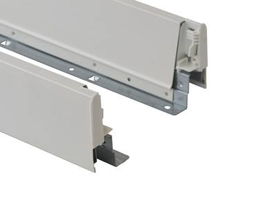 Комплект для ящика 500 мм Firmax Newline, 84мм с доводчиком, белый Изображение 3