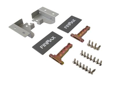 Комплект для ящика Firmax 400 мм, H83мм с доводчиком, серебристый Изображение 4