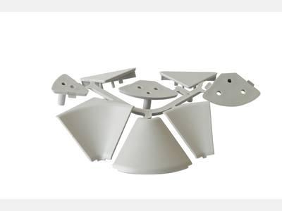 Комплект к плинтусу под вставку 27x27мм, пластик, FIRMAX Изображение 3