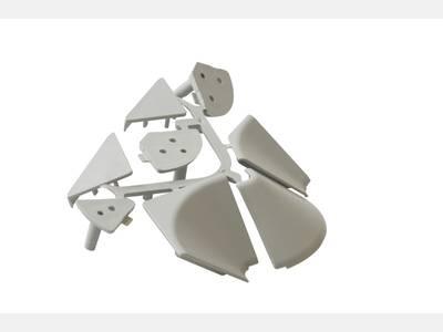 Комплект к плинтусу под вставку 27x27мм, пластик, FIRMAX Изображение 5
