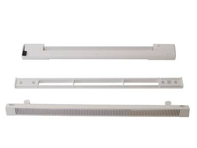 Комплект: клапан приточный  EMM, 5-35 м3/ч, козырек ASAM, белый, EMM707 Изображение