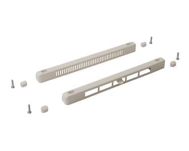 Комплект: клапан вентиляционный SM Tip Vent MINI + козырек наружный TIP, 4-20 m3/ч, белый RAL9016 Изображение 3