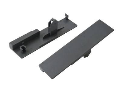 Комплект креплений 135мм (Соединители передней панели, держатели задней стенки, заглушки, винты) для вн. ящика Firmax Newline под 1 рейл., серый Изображение 3