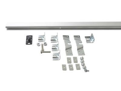 Комплект креплений для сдвижных дверей до 120 кг с системой мягкого закрывания с направляющей 2 м Изображение 4