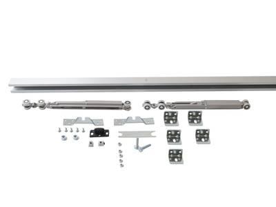 Комплект креплений для сдвижных дверей до 120 кг с системой мягкого закрывания с направляющей 2 м Изображение 7