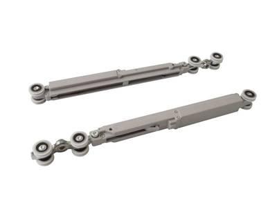 Комплект креплений для сдвижных дверей до 120 кг с системой мягкого закрывания с направляющей 2 м Изображение 11