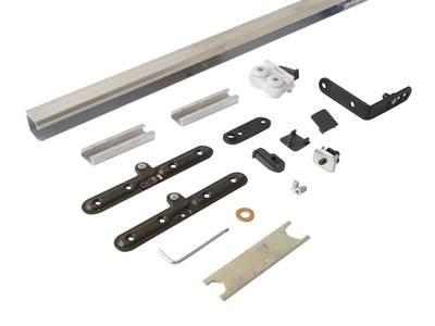 Комплект креплений для складных дверей 30 мм до 60 кг с направляющей Изображение 5