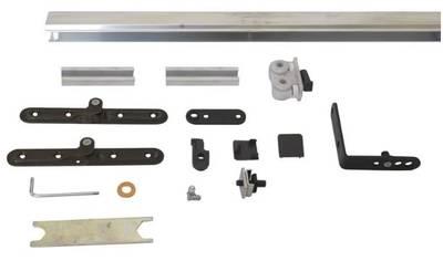 Комплект креплений для складных дверей 40 мм до 60 кг с направляющей Изображение 6
