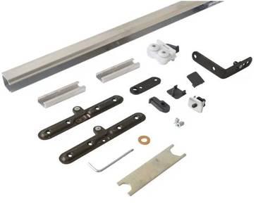 Комплект креплений для складных дверей 40 мм до 60 кг с направляющей Изображение 7