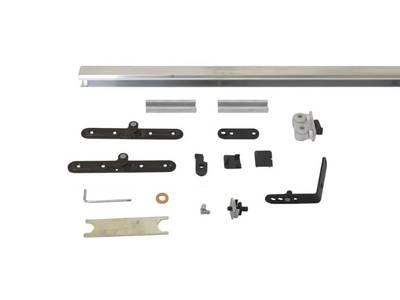 Комплект креплений для складных дверей 40 мм до 60 кг с направляющей Изображение
