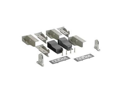 Комплект креплений для ящика под мойку Firmax Newline высотой 84мм, серый Изображение