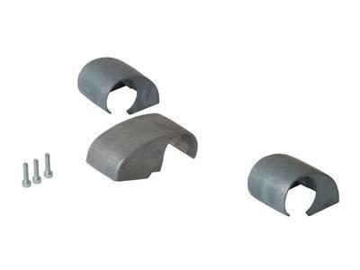 Комплект крышек для DOMINA HP COVER (3 штуки), 62,5 мм, неокрашенный, межосевое 62,5 мм Изображение 3