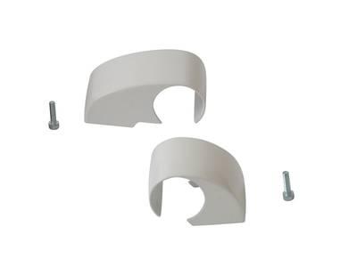 Комплект крышек для DOMINA HP COVER (2 штуки), белый, межосевое 62,5 мм Изображение 2