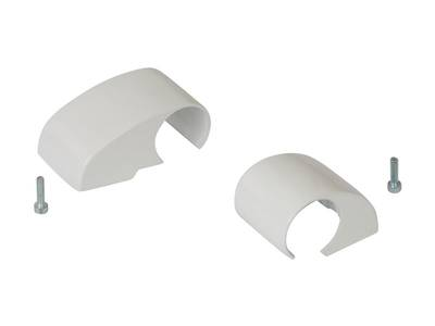 Комплект крышек для DOMINA HP COVER (2 штуки), белый, межосевое 62,5 мм Изображение 3
